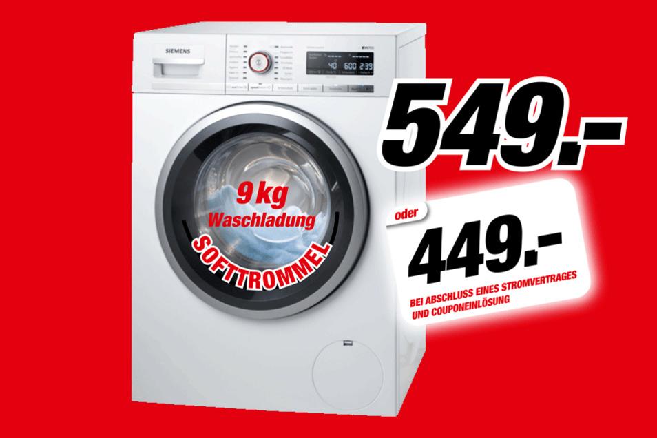 Siemens Waschmaschine WM 14 5 FCB für 549 Euro