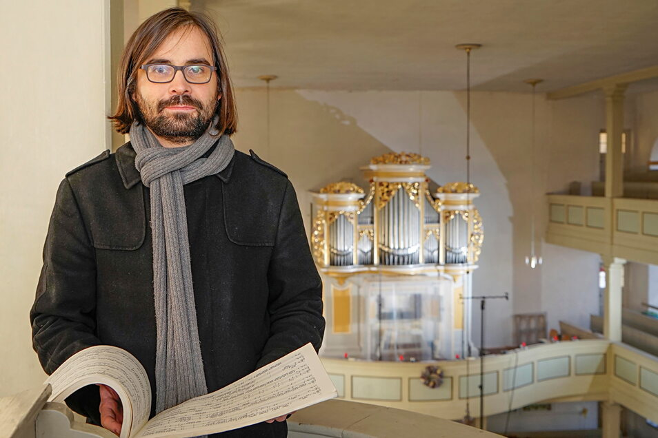 Der Bayreuther Orgelprofessor Lucas Pohle gibt am 20. Juni ein Konzert in Reinhardsgrimma.