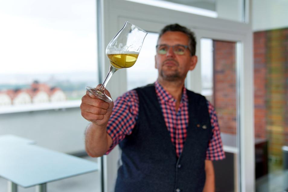Zeremonienmeister: Jens Zimmermann ist Leiter der Sektion Ost im Verband der Diplom-Biersommeliers.