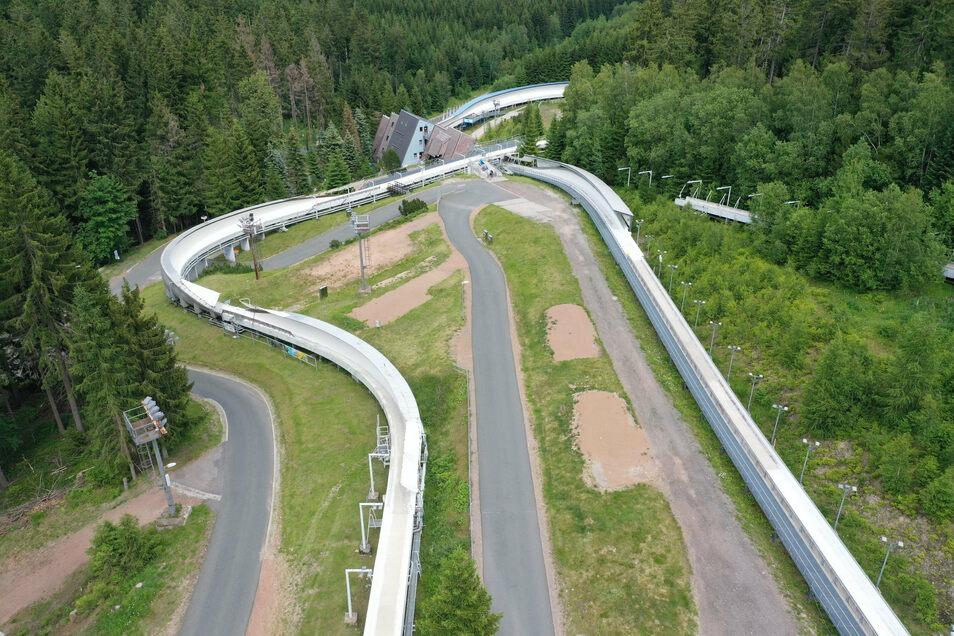 Die Kurve 13 ist eine der drei Kurven, die einen größeren Radius erhalten sollen.