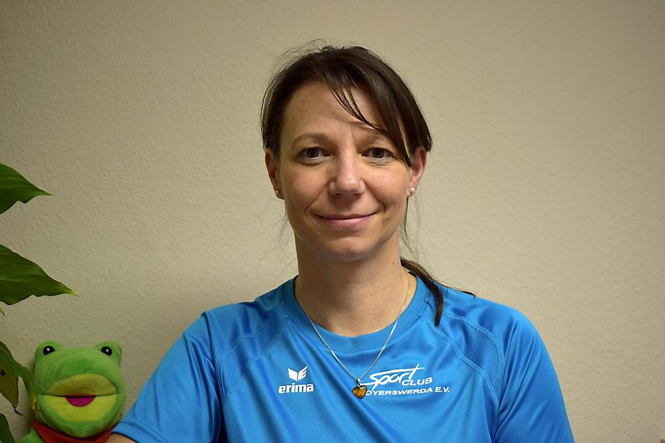 Seit 2019 ist Kerstin Nix als Trainerin im Bereich Kindersport beim SC tätig.