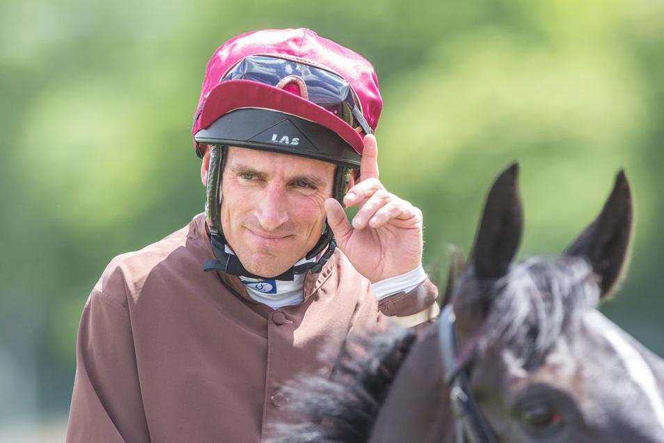 Andrasch Starke hat vor gut zwei Jahren in Dresden das am höchsten dotierte Rennen der Saison gewonnen.