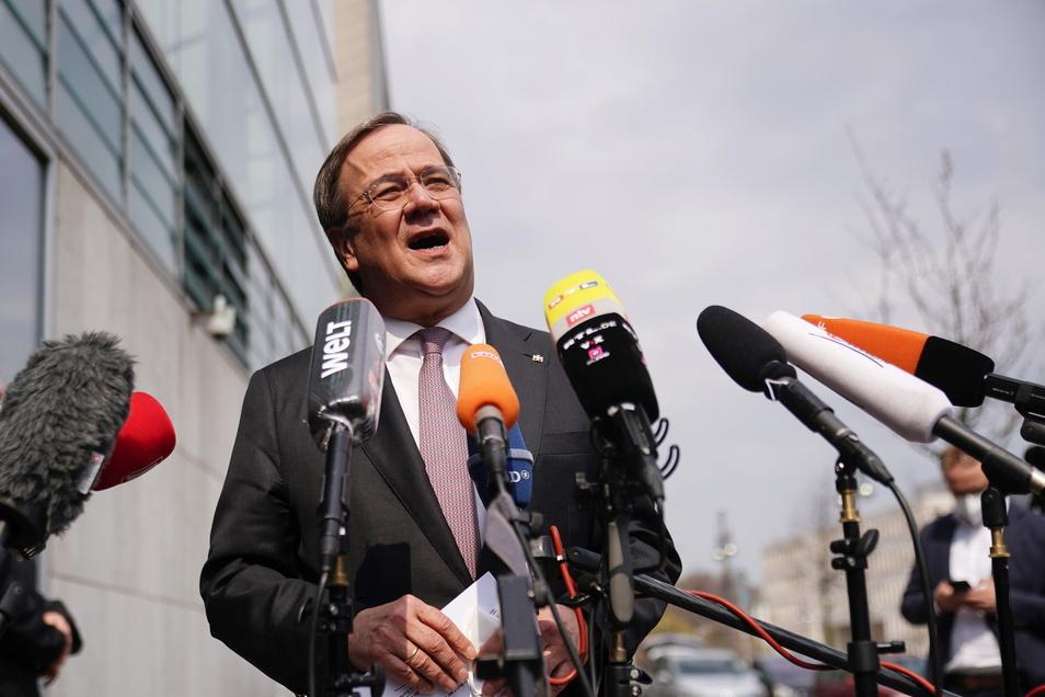 CDU-Chef Armin Laschet will am Montagabend einen Vorschlag zur K-Frage machen.