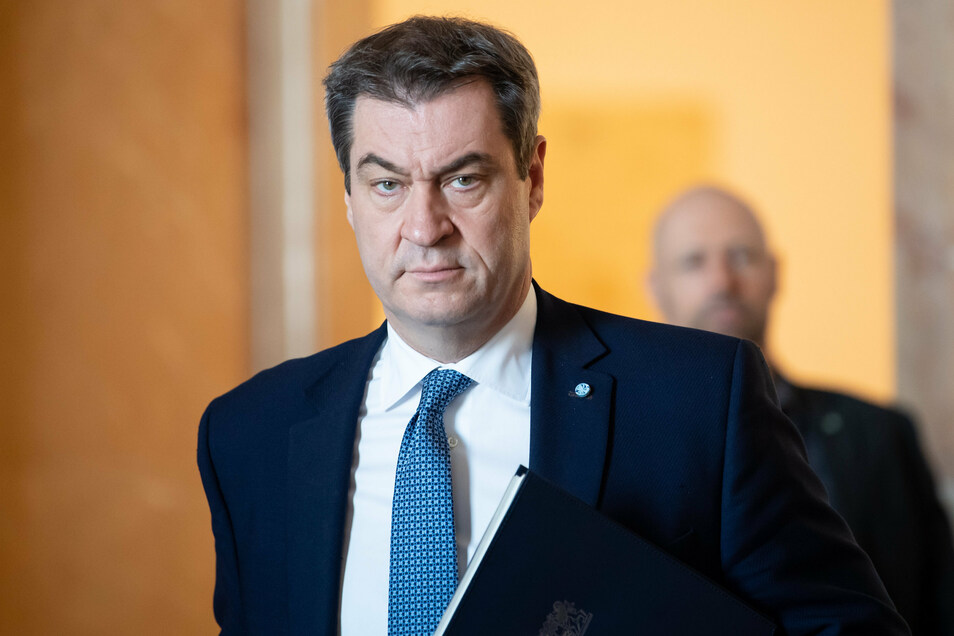 Markus Söder (CSU), Ministerpräsident von Bayern, besteht auf Kaufanreize auch für Autos mit Verbrennermotor.