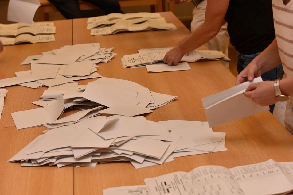 Der erste Wahlgang der Bürgermeisterwahl in Glashütte ist Geschichte. Der Gemeindewahlausschuss hat das Ergebnis geprüft.