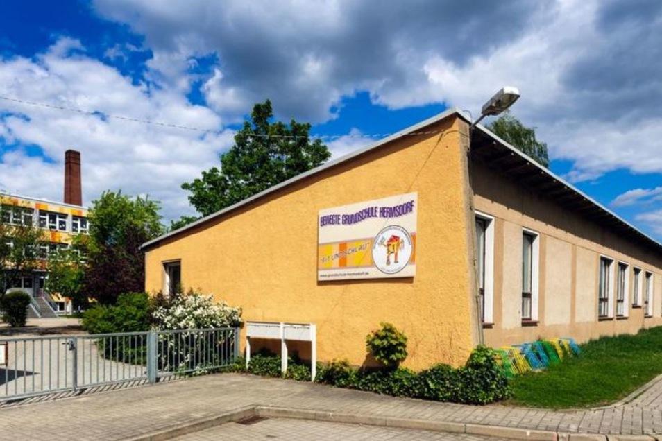 In der Grundschule Hermsdorf stehen umfangreiche Arbeiten an.