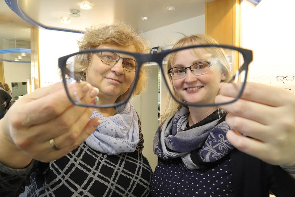 Doris Hoffmann und Tochter Annelies Hoffmann von Augenoptik Neuhäußer haben für sich die Nachfolge schon geklärt.