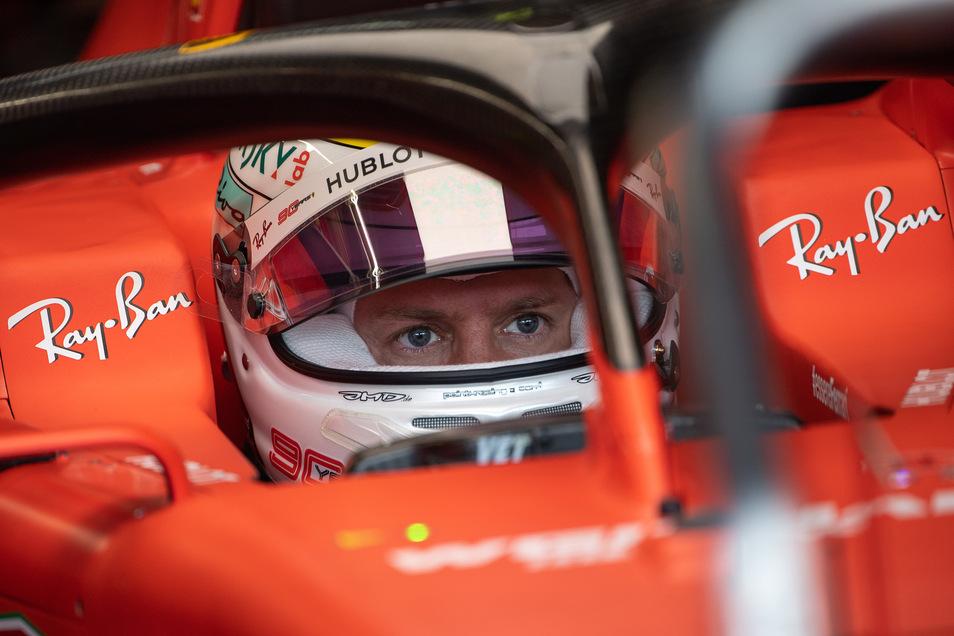 Sebastian Vettel aus Deutschland wird das Team Scuderia Ferrari am Jahresende verlassen.