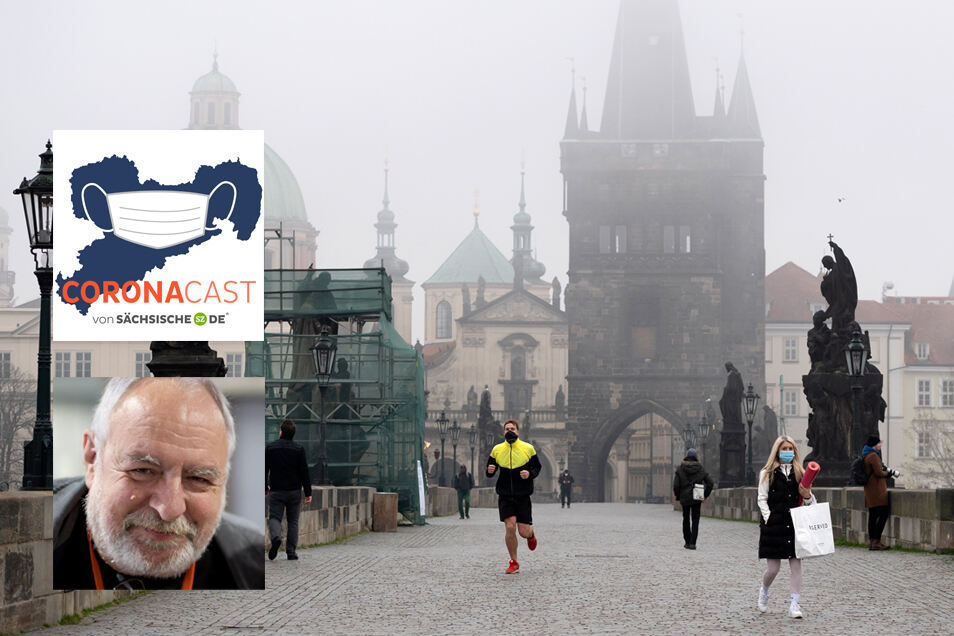 Hans-Jörg Schmidt ist seit 1991 Korrespondent für die SZ in Prag. Eine Situation wie jetzt hat er zuvor noch nicht erlebt. Im CoronaCast erzählt er.