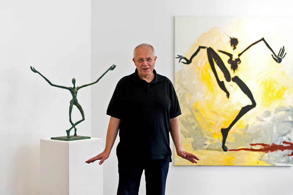 Der Maler Helge Leiberg stammt aus Dresden, lebt seit 1984 in Westberlin.