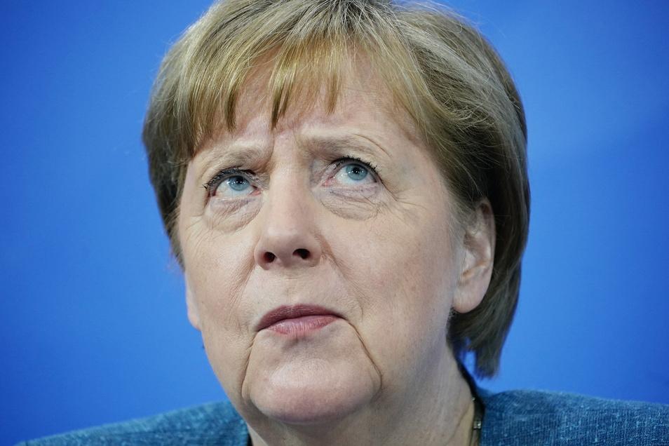 """""""Wir werden alles daran setzen, bereits 2045 das Ziel der Klimaneutralität zu erreichen"""": Bundeskanzlerin Angela Merkel."""