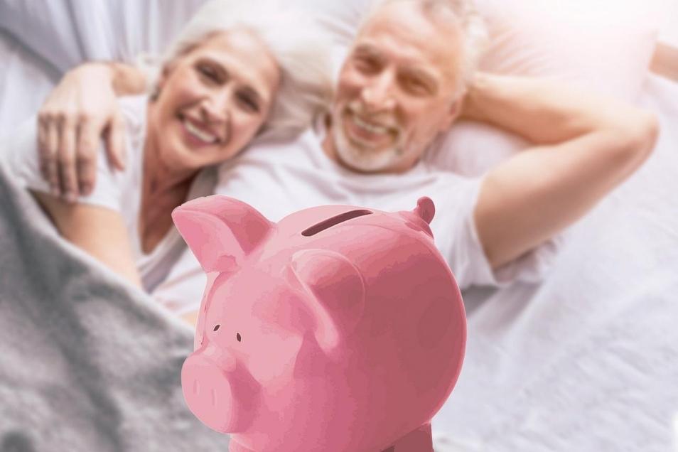 Die meisten fühlen sich finanziell gut auf die Rente vorbereitet.