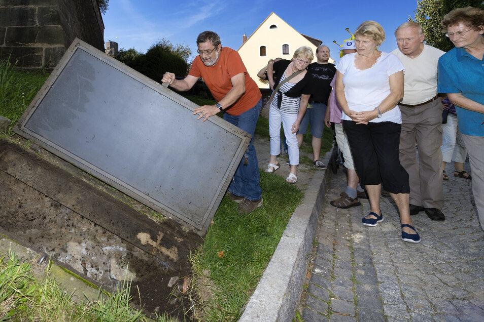 Geologe Thomas Scholle bereitet seit vielen Jahren den Tag des offenen Denkmales in Stolpen vor. Doch Corona wirbelt einiges durcheinander.