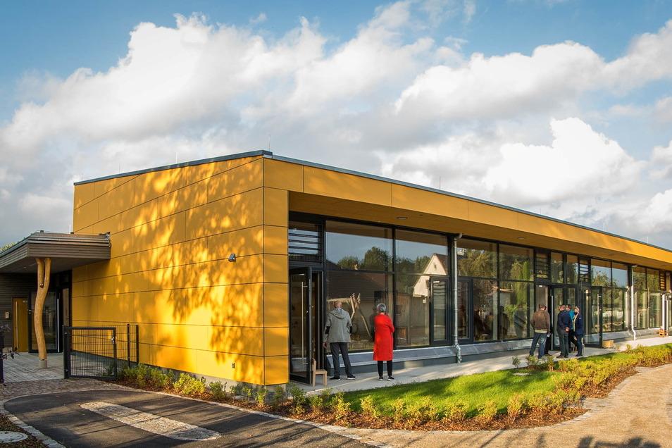 In der neuen Kita in Ottendorf-Okrilla verfügen alle Gruppenräume über einen direkten Zugang zur Terrasse.
