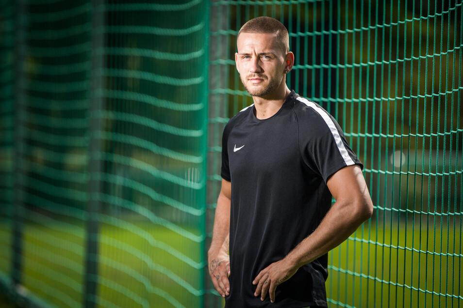 René Klingenburg will bei Dynamo auch als Mentalitätsspieler vorangehen.