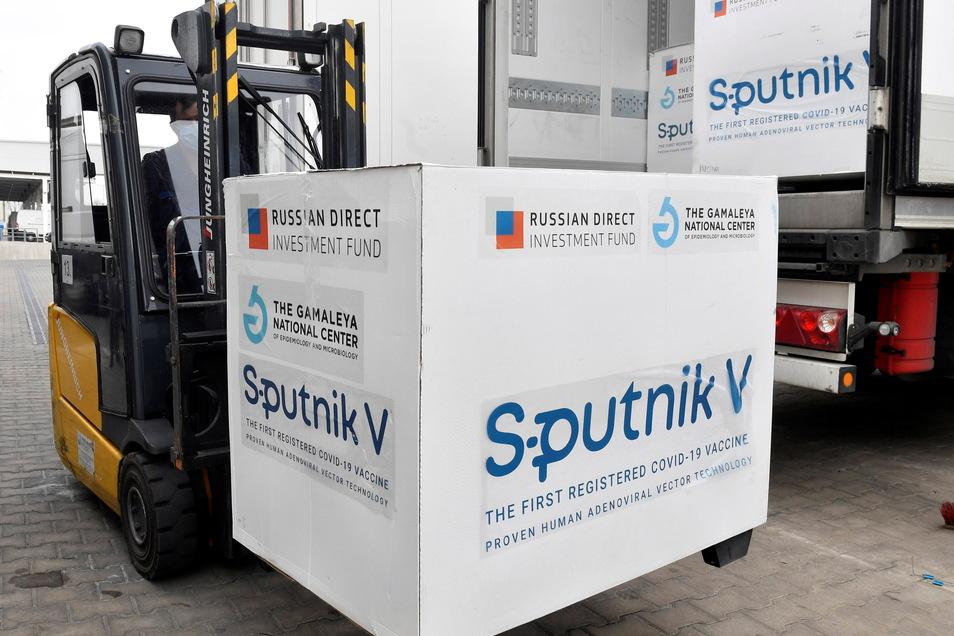 Sachsen hat Angebote für den russischen Impfstoff Sputnik V abgelehnt.