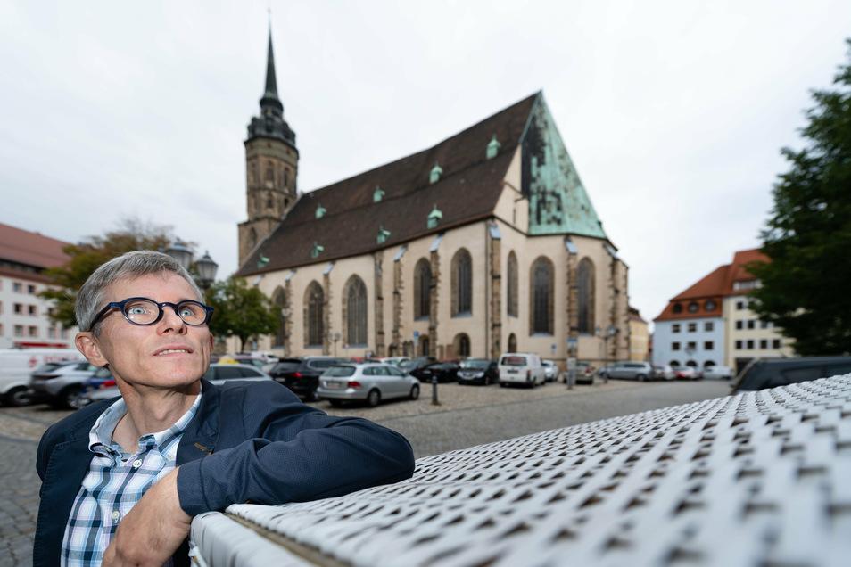 Superintendent Tilmann Popp muss den Umgestaltungsprozess in der ev.-luth. Kirche im Raum Bautzen/Kamenz leiten und mitgestalten.
