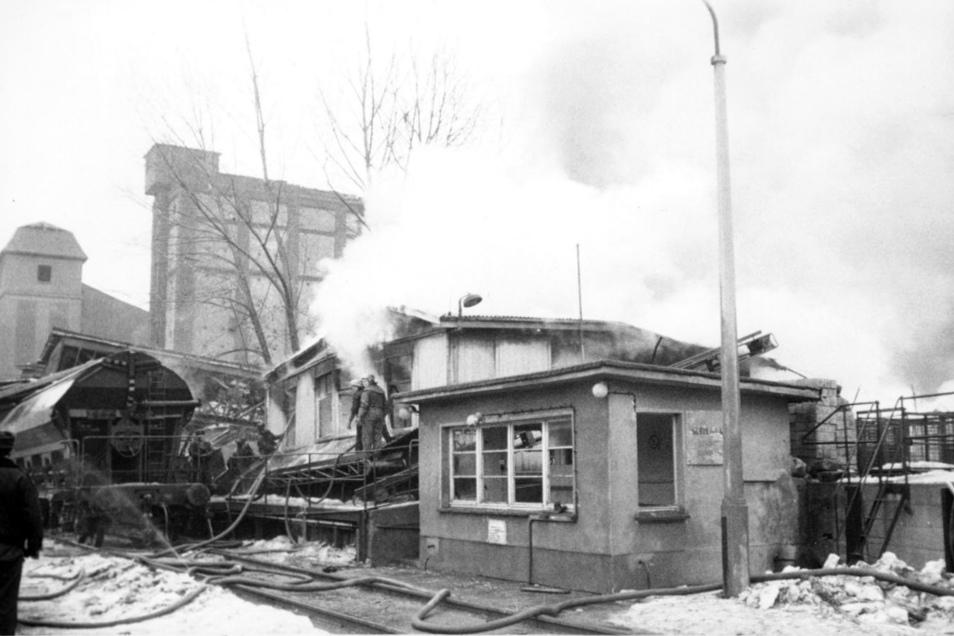 Am 5. Februar 1979 gab es eine Explosion im Riesaer Ölwerk. Zehn Menschen starben, 39 weitere wurden teils schwer verletzt.