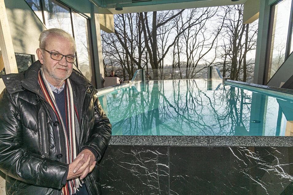 Seine Gäste mit besonderen Angeboten ins Oberland zu locken, ist Teil der Unternehmensphilosophie von Hotelchef Rüdiger Schumann.
