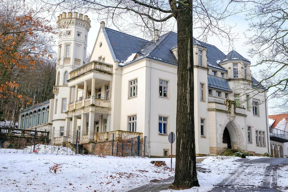 Das Mohrenhaus in Radebeul.
