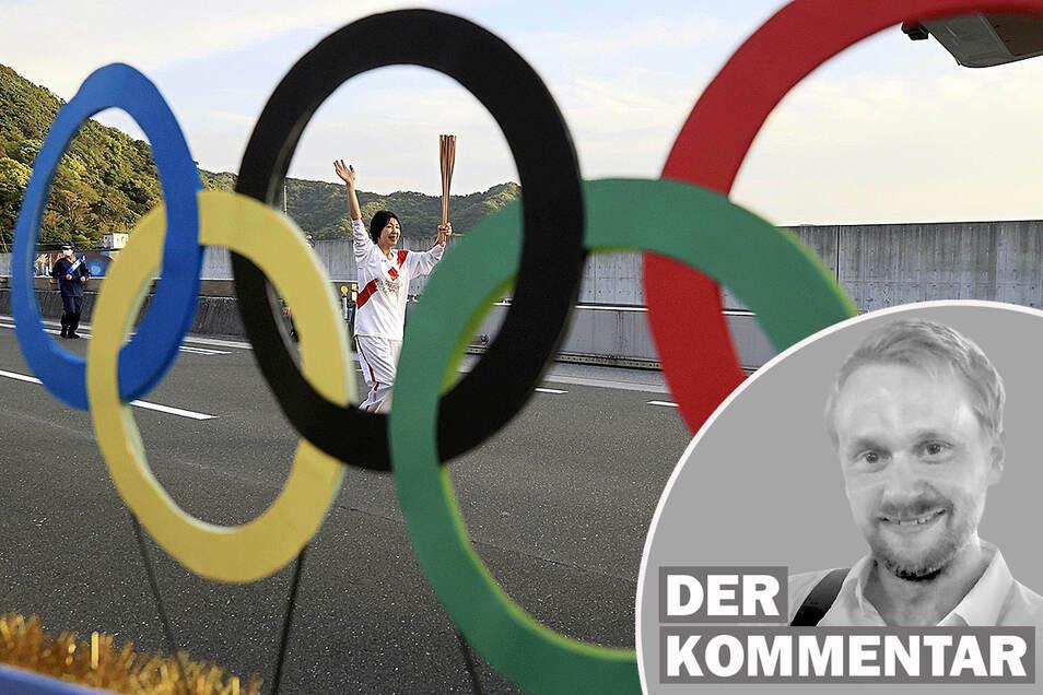Die Olympischen Sommerspiele Tokio 2020 sollen coronabedingt vom 23. Juli bis zum 8. August 2021 in Tokio stattfinden - wenn sie denn stattfinden.