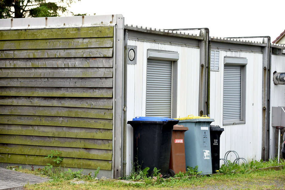 So sieht der Jugendklub-Container in Oberseifersdorf heute aus.