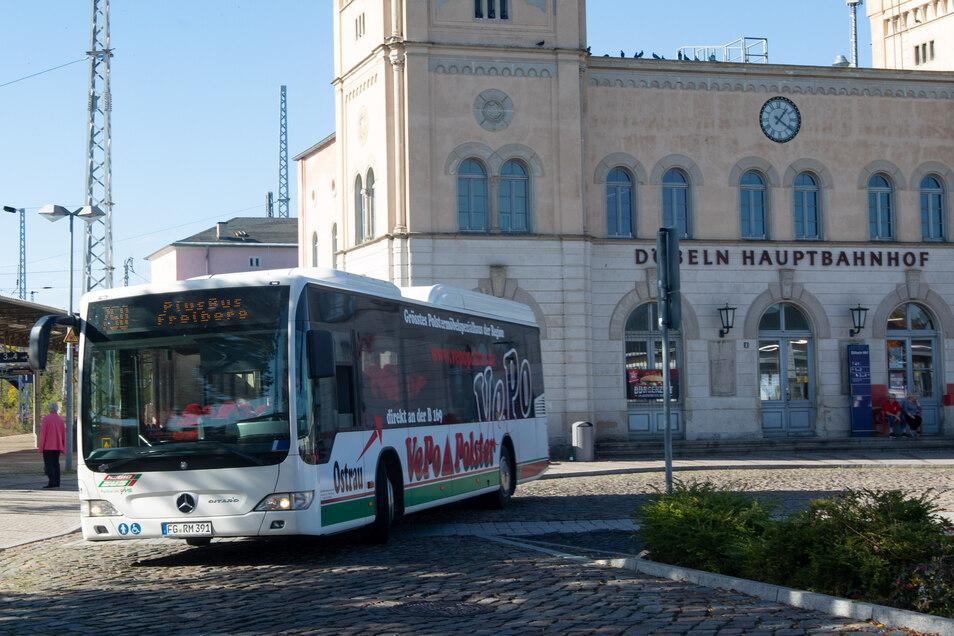 Der Plusbus zwischen Döbeln und Freiberg fährt bereits. Andere Pläne sind teuer und langwierig.