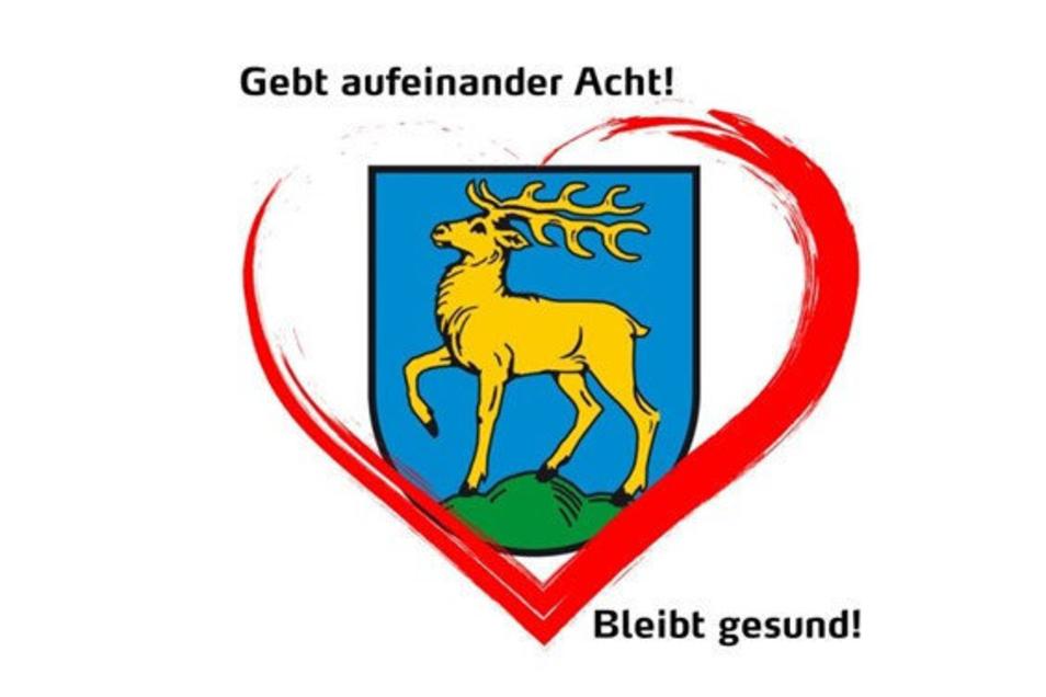 """""""Mit Herz und Verstand"""": Das eigens gestaltete Logo von Sebnitz."""