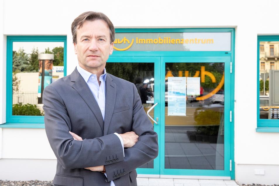 Sieht ernster aus als er ist: Tilo Koch übernimmt am 1. Juli die Geschäfte der WVH.