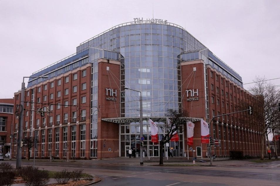 Das NH Hotel an der Hansastraße wurde am Samstagabend überfallen.