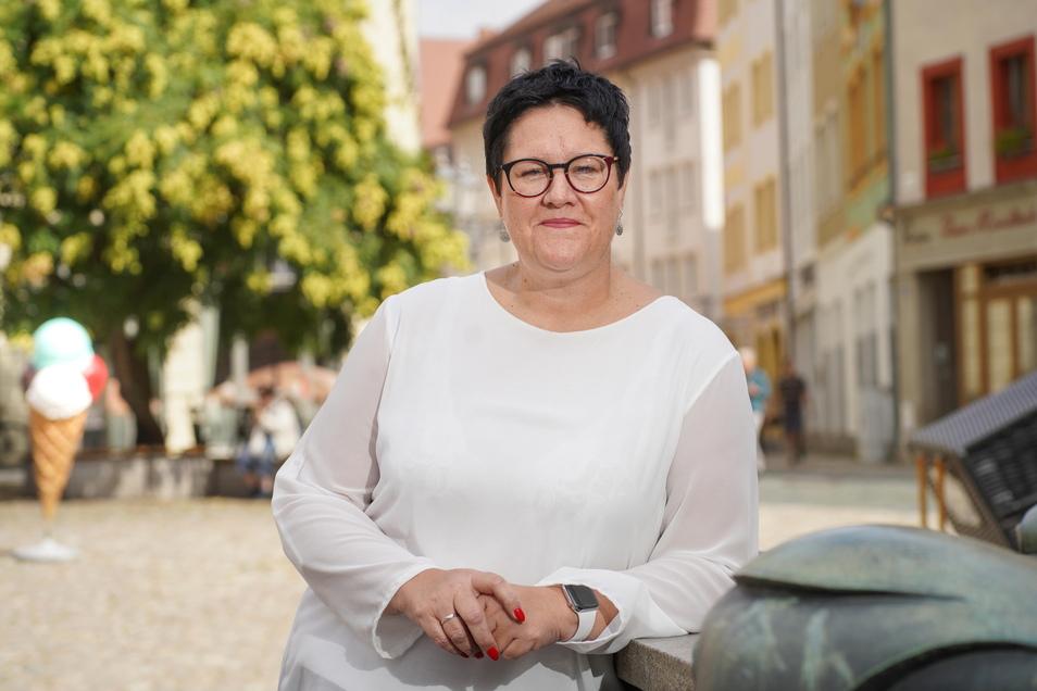 Kathrin Michel ist die Direktkandidatin der SPD und bewirbt sich derzeit mit Henning Homann für den SPD-Landesvorsitz in Sachsen.