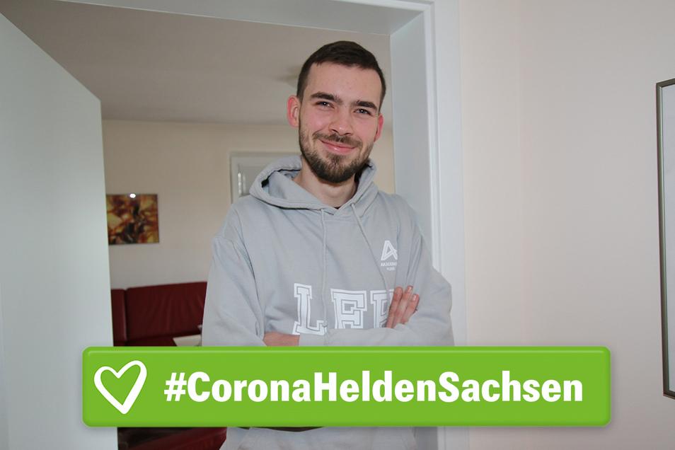 Konrad Schneider fährt täglich von Waldheim nach Zwickau, um dort in einer Corona-Ambulanz zu arbeiten.