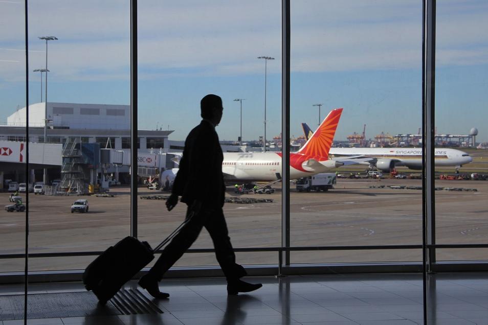 Fälle von auf Flughäfen gestrandeten Menschen sind ungewöhnlich.