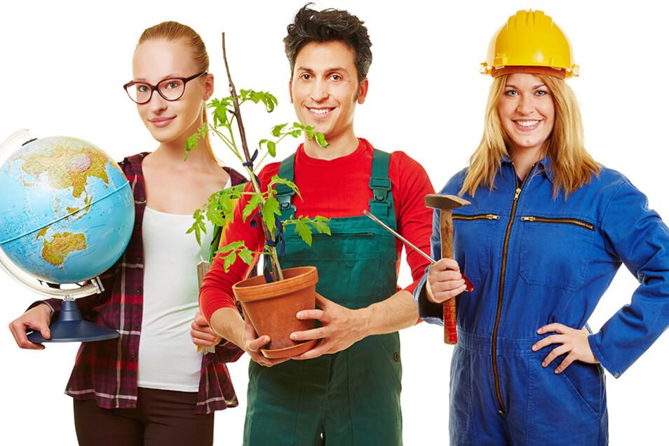 Welcher Traumjob darf es sein? Noch gibt es viele freie Lehrstellen. Die Experten der IHK Dresden beraten Jugendliche und Eltern kostenlos und ausführlich.