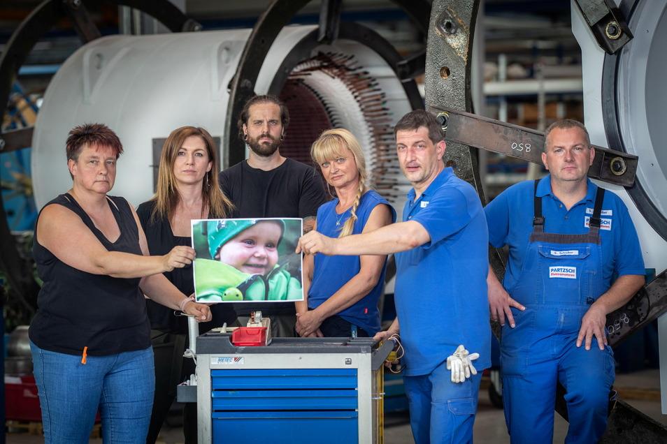 Die Mitarbeiter der Partzsch Unternehmensgruppe wollen ihrem Kollegen aus Bitterfeld helfen. Dessen Sohn Luke ist sehr krank und benötigt eine Stammzellspende.