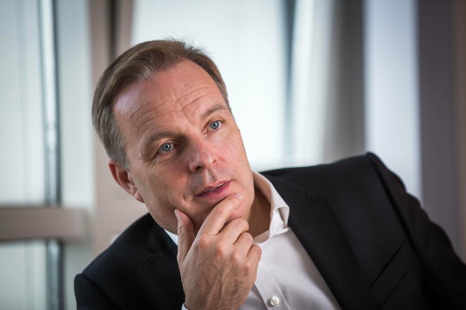 Frank Brinkmann hält neue Lösungen für eine stabile Trinkwasserversorgung für nötig.