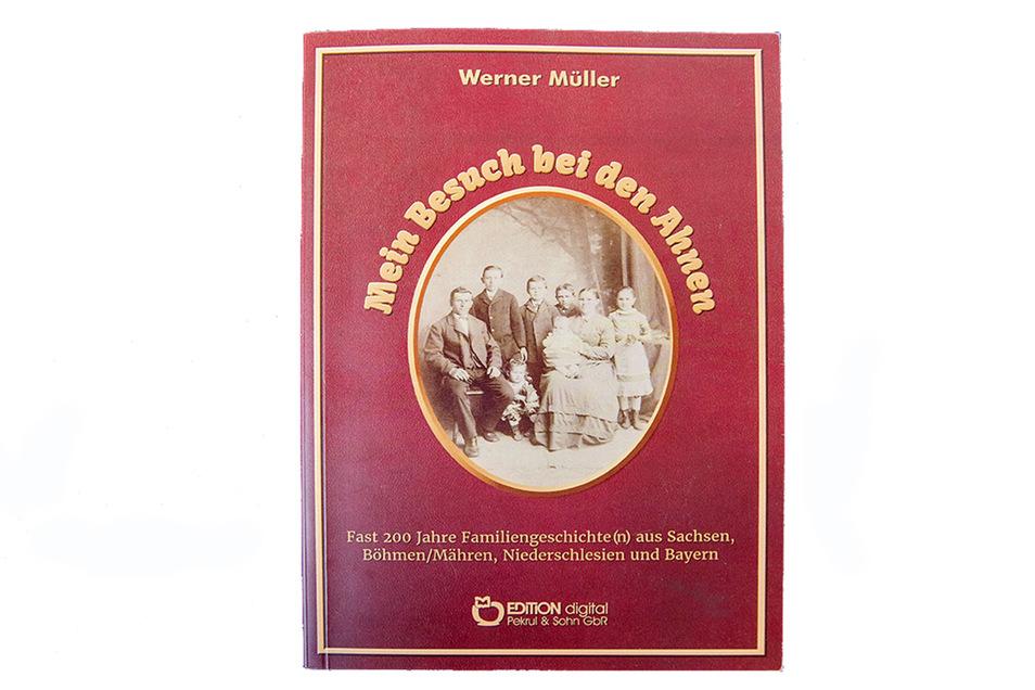Bei seinem Besuch bei den Ahnen ist Werner Müller auch auf fünf Briefe gestoßen.
