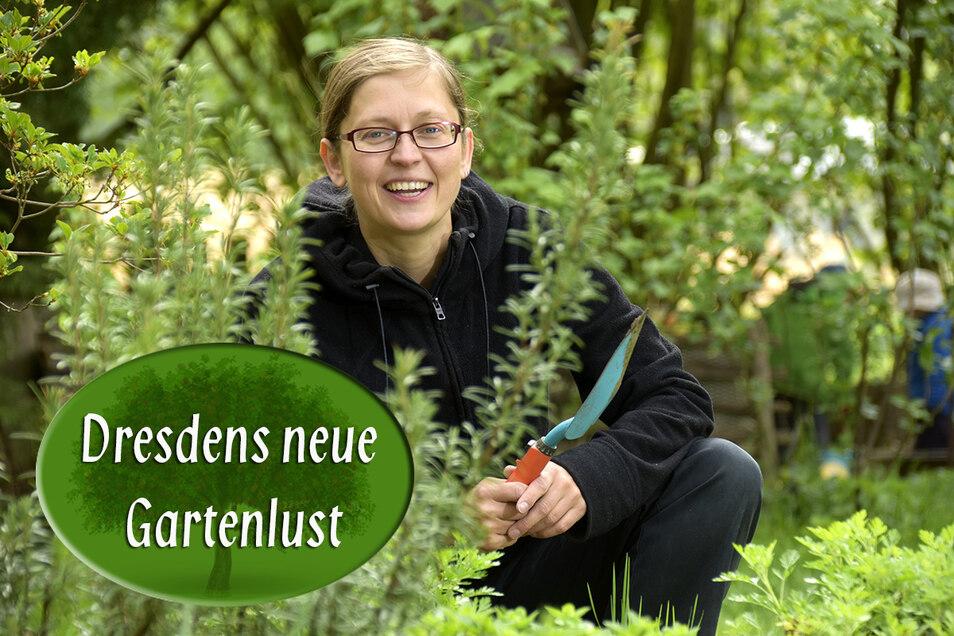 """Mit ihrer Pflanzentauschplattform """"Bäumchen, wexel Dich"""" hat Kristin Hofmann einen Nerv getroffen."""