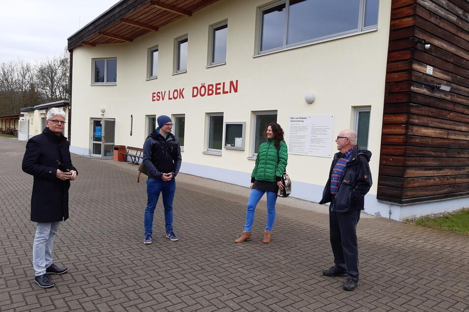 Im Döbelner Lok-Stadion sind erste Absprachen zum Sparkassen-HikeDeLuxe getroffen worden.