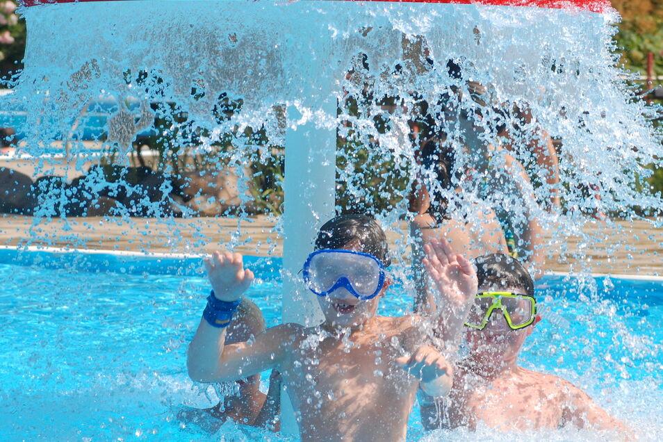 Badespaß im Miltitzer Jahnbad ist wieder möglich.