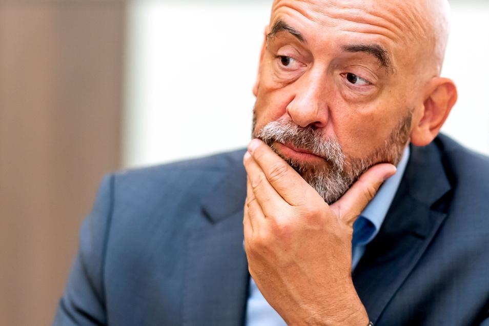 Alexander Ahrens (SPD) ist Oberbürgermeister in Bautzen.