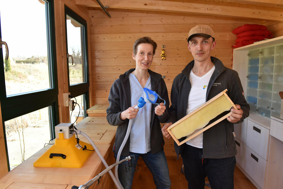 Dirk Jäger und Antje Jäger-Hundt nutzen die Zusammensetzung der Stockluft zum Heilen.