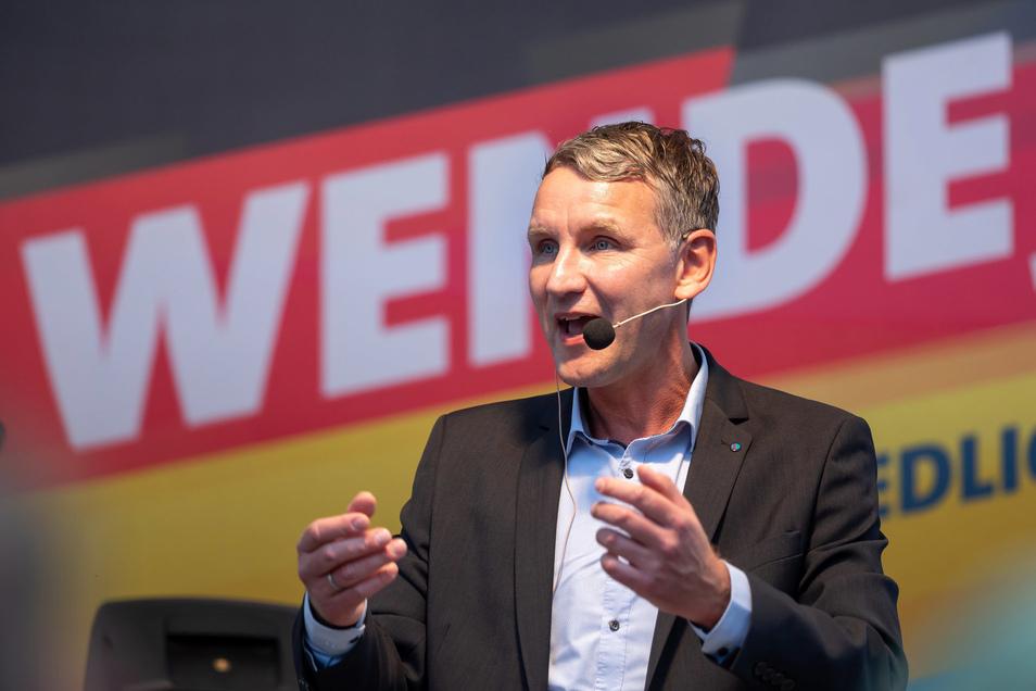 """Björn Höcke ist Landeschef der AfD in Thüringen und Gründer des """"Flügels""""."""