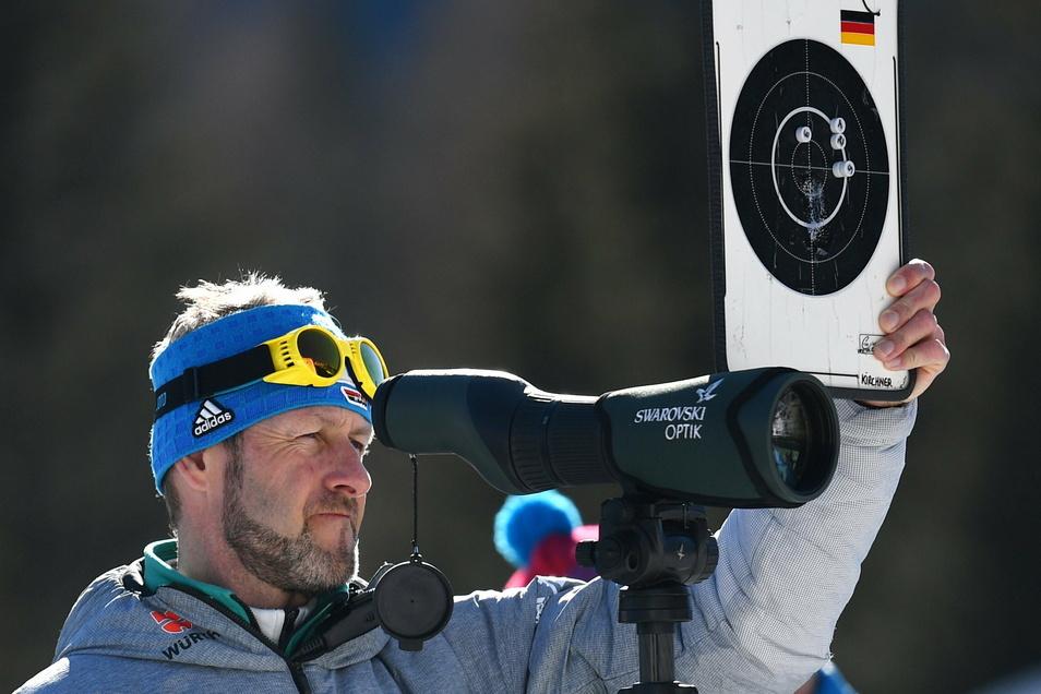 Auf der Suche nach der nachrückenden Biathlon-Generation: Bundestrainer Mark Kirchner.