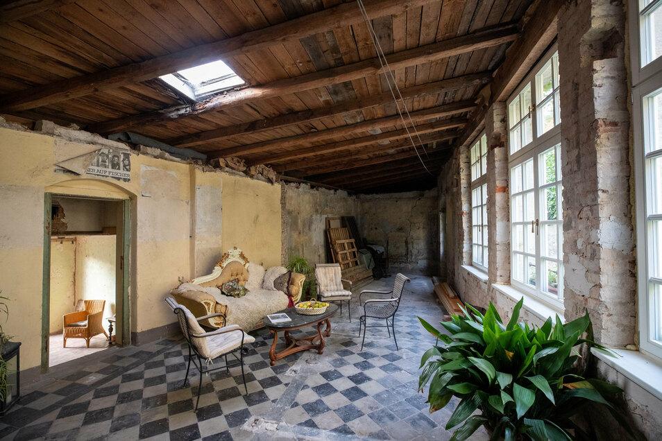 Das Haus Niederposta Nr. 12 war einst der Kolonialwarenladen von Traugott Förster. Hier wollen die Reimanns möglichst bald einziehen.