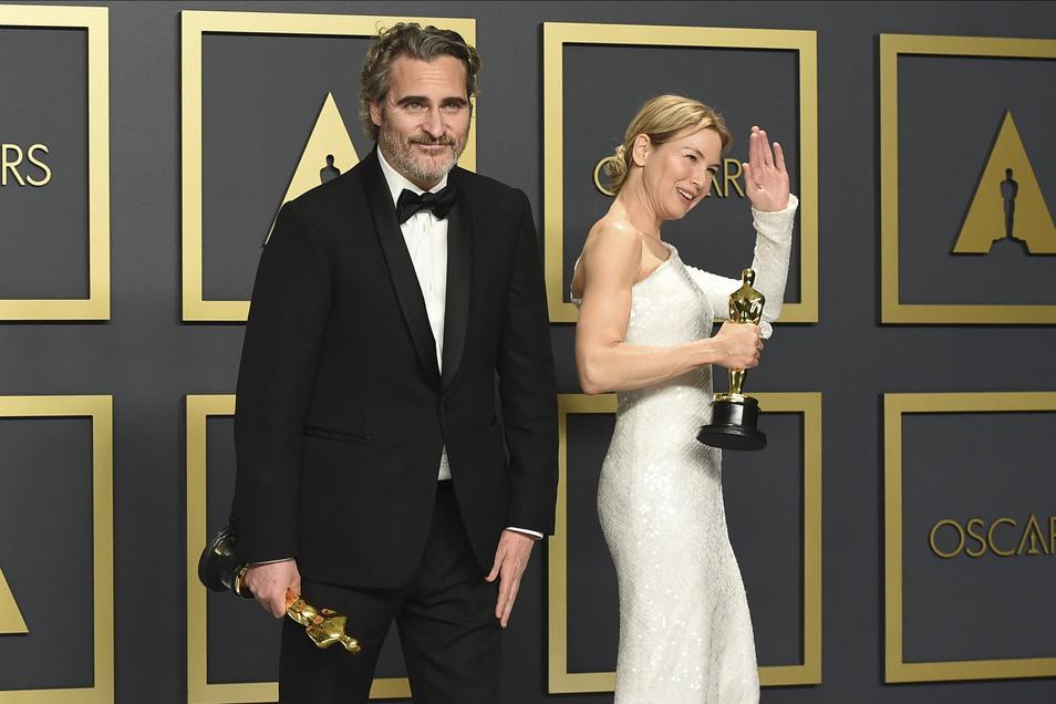 """Joaquin Phoenix, Gewinner des Oscars """"Bester Hauptdarsteller"""" für seine Rolle in dem Film """"Joker"""""""