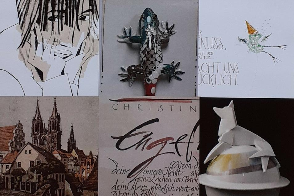 Eine Auswahl der Kunstwerke