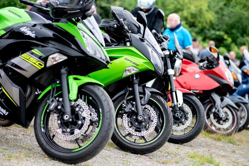 Schnittig, so ein Motorrad. Zwei davon wurden jetzt in Nebelschütz gestohlen.