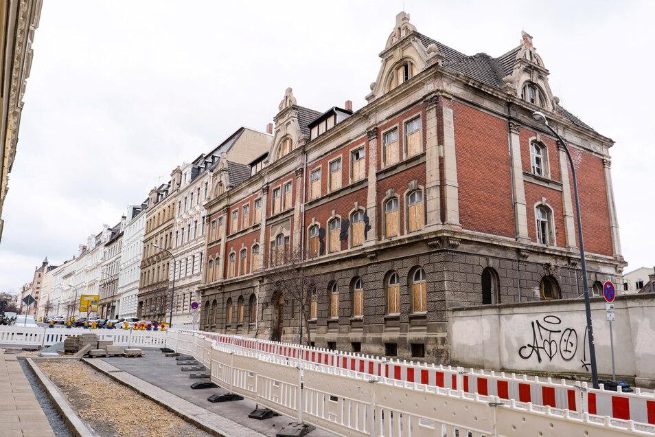 Hier soll die neue Oberschule in Görlitz entstehen - mitten in der Innenstadt West.