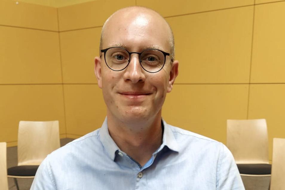 Thomas Raab aus Freital ist der neue stellvertretende Kreisbrandmeister in Mittelsachsen.